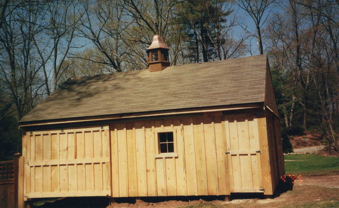 Barns & Garages - Lamore Lumber Projects